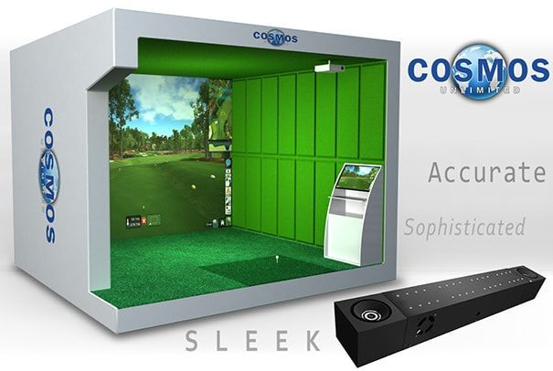 3D Golf Simulator Image with advanced features